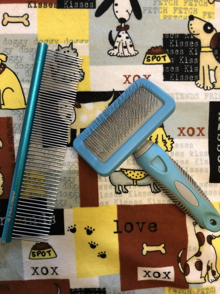 Tools for Combing and Brushing Your Dog