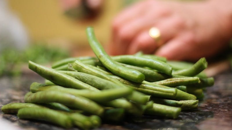 Healthy Thanksgiving Foods Your Dog Will Love: Green Beans